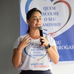 Sandra Fagundes - Promotora de Justiça e Coordenadora do Projeto